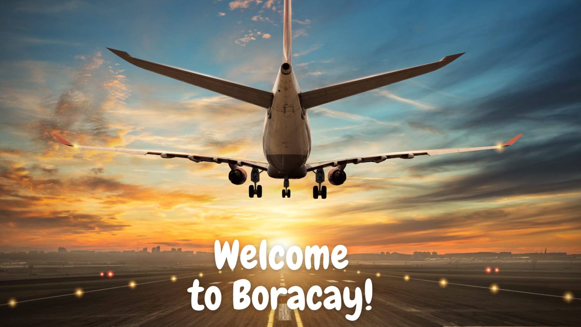 Tourist coming from NCR Plus starting to arrive on the island of Boracay