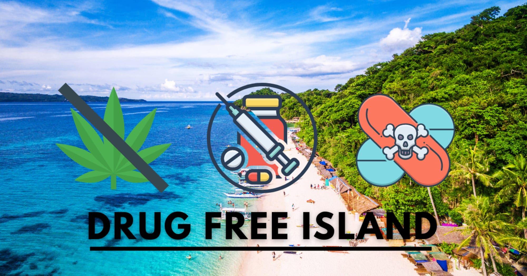 Boracay Island now a drug-free tourist destination
