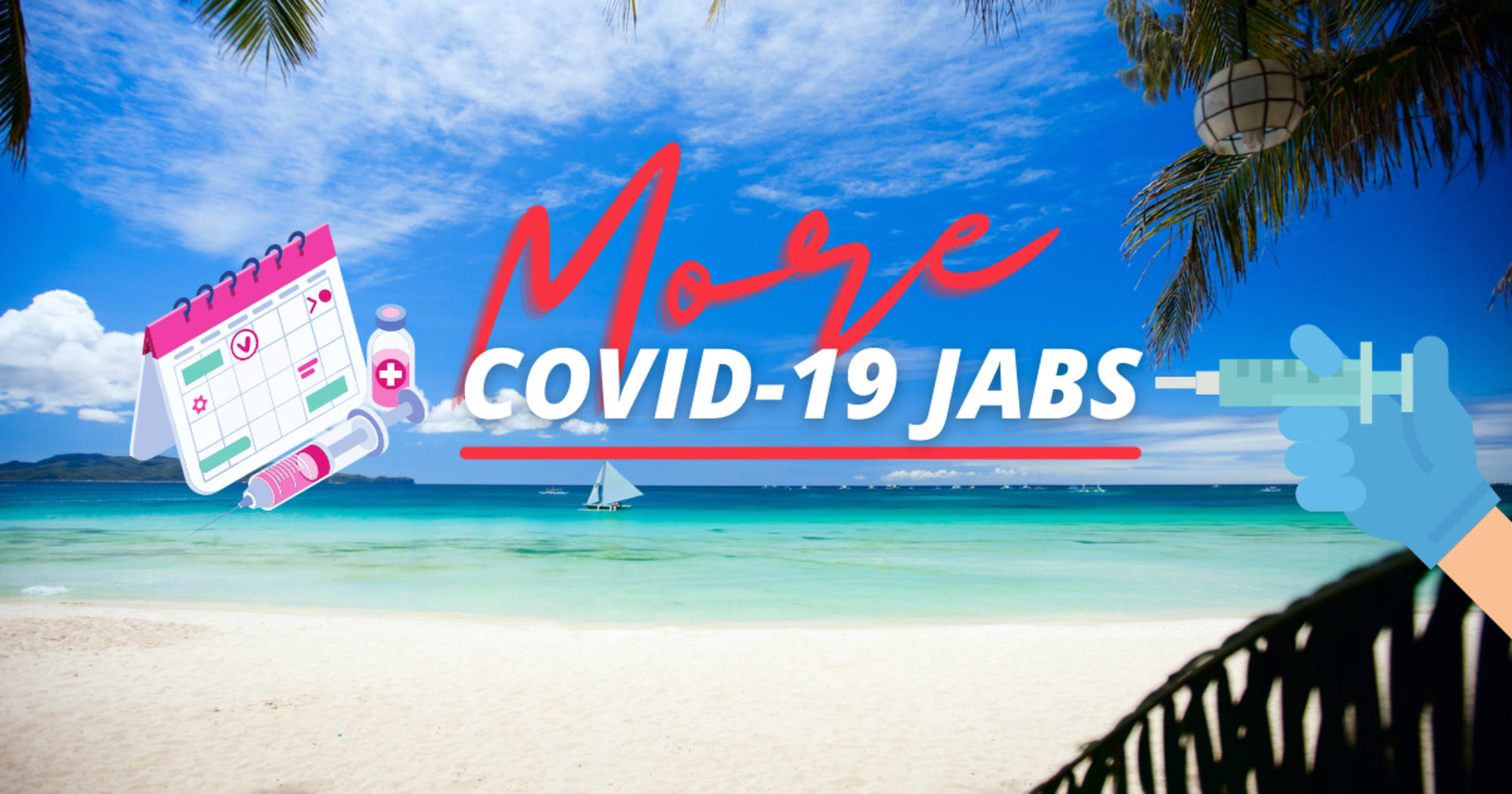 More tourism workers in Boracay are to receive vaccine jabs with the arrival of an additional 10,000 Sinovac -DOT