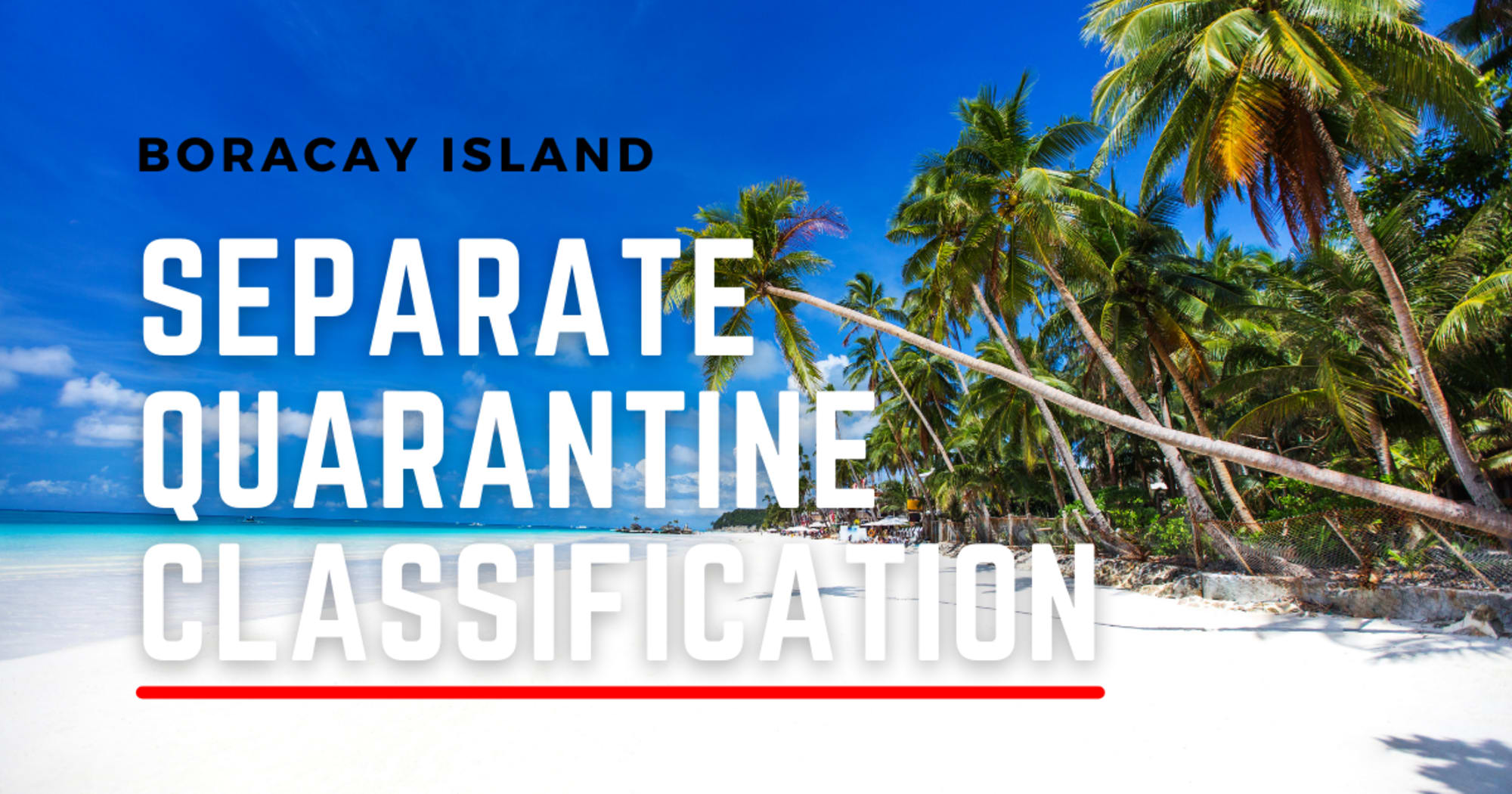 Boracay should have a separate quarantine classification from the rest of Aklan - Puyat