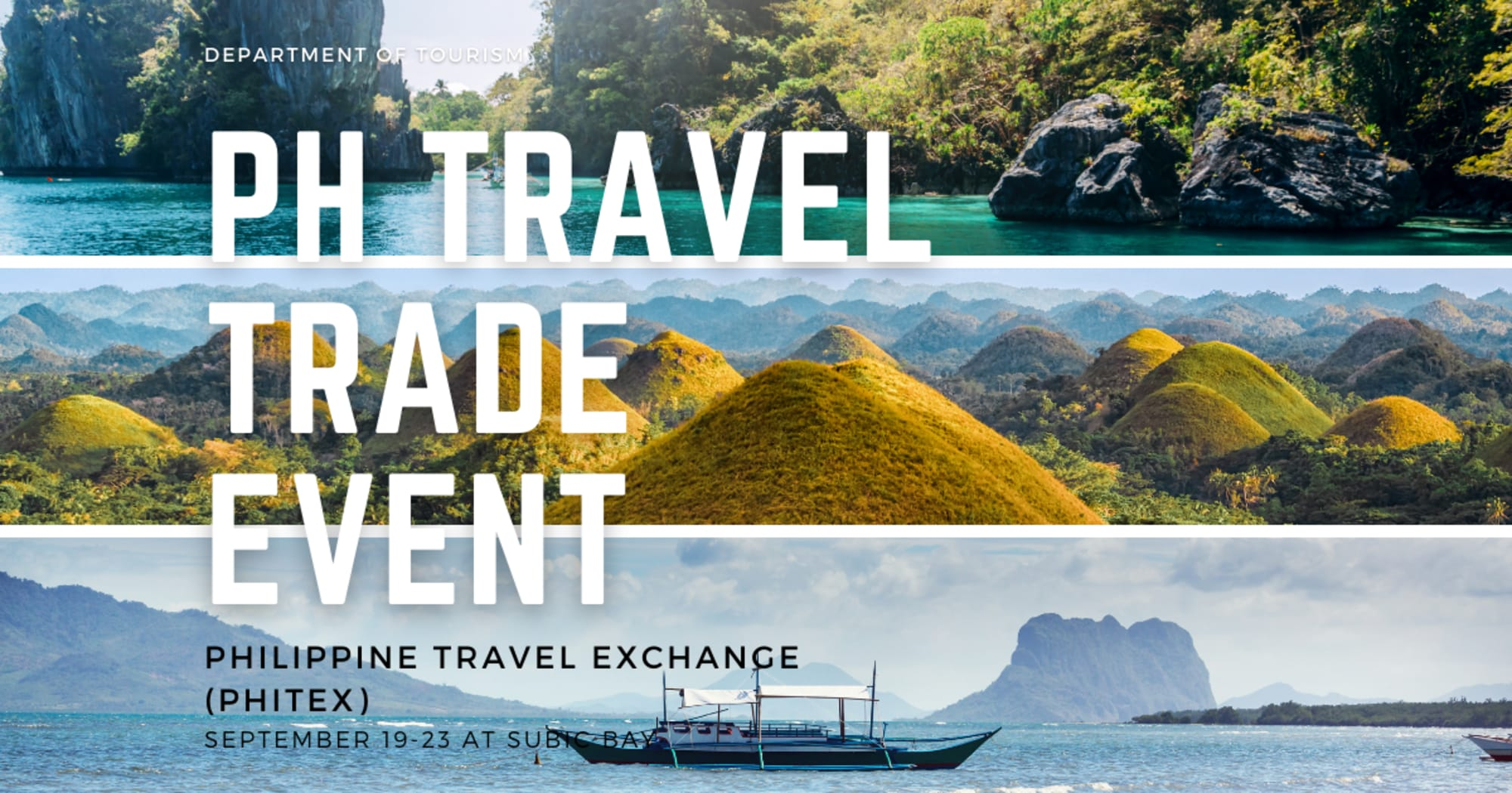 The biggest PH travel trade event will be held on September and it is open for registration