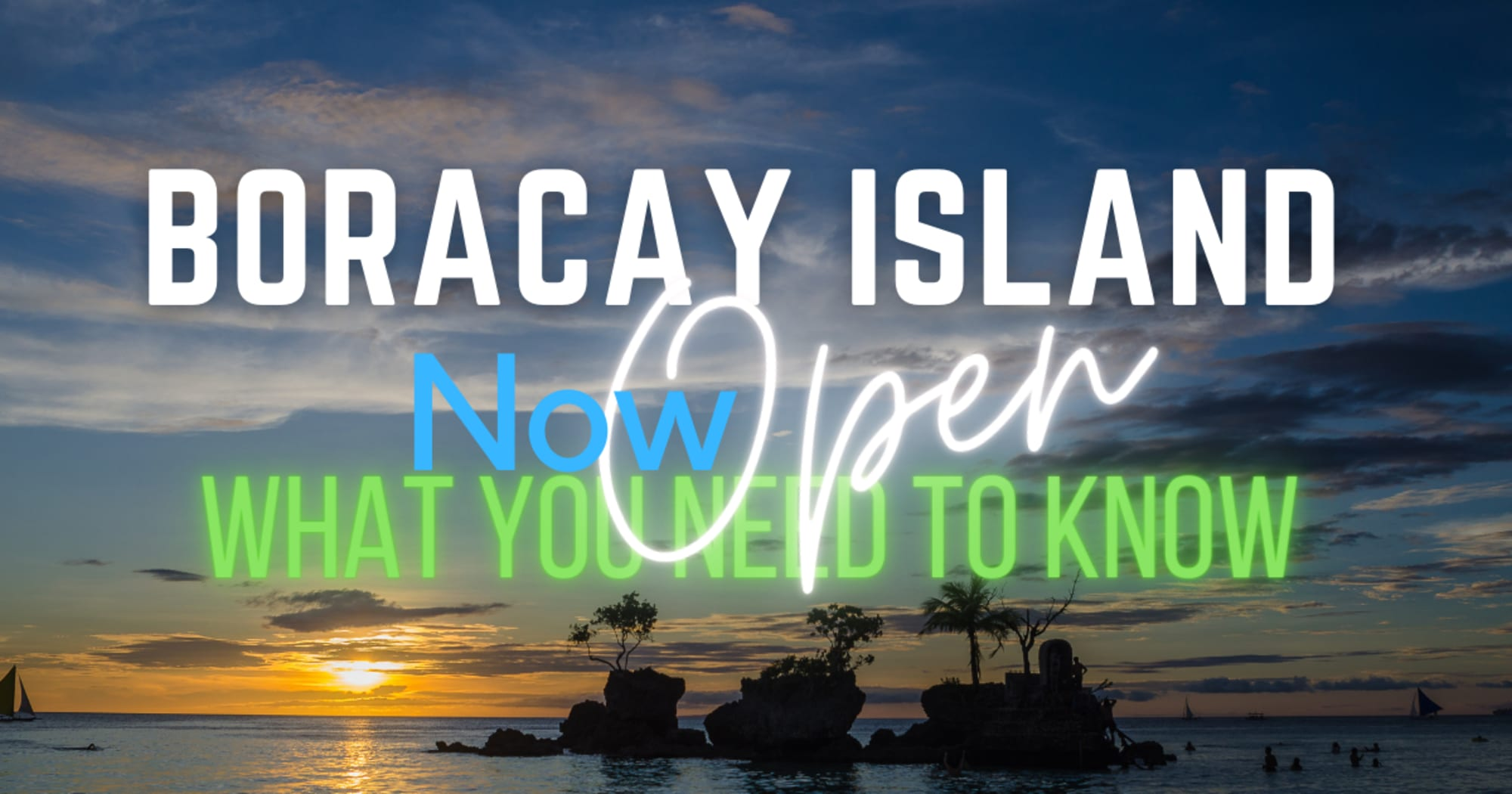 Updated requirements needed to enter Boracay Island as of September 2021