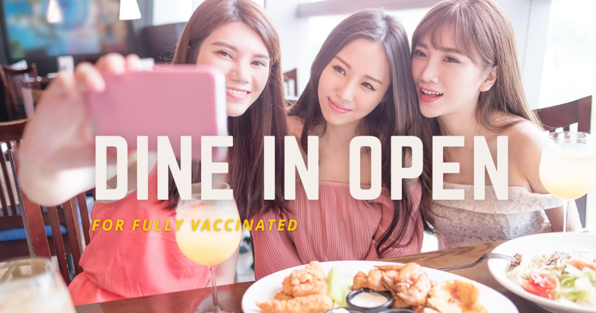 Indoor dining now open for full vax - Resto Ph