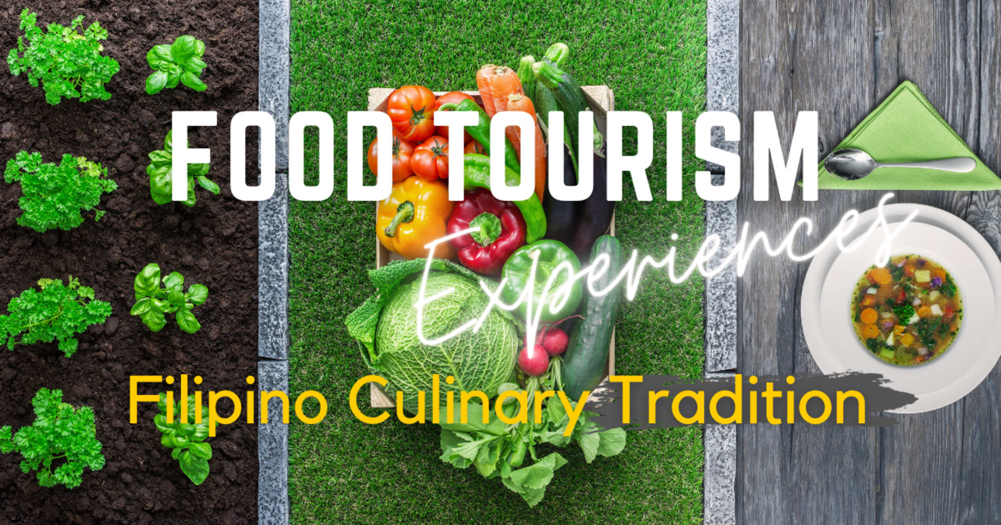 DOT with several agencies aims to promote the Filipino culinary tradition and the food tourism experiences