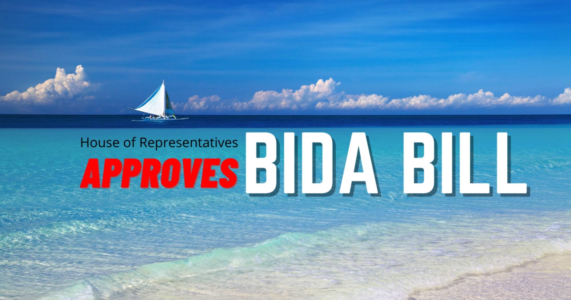 House of Representatives approves the final reading of BIDA Bill