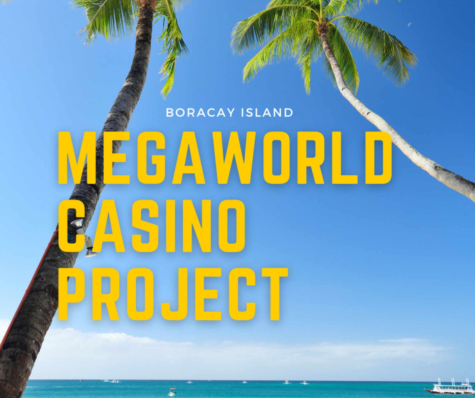 Tycoon Andrew Tan confirmed Megaworld is set to proceed with the casino project in Boracay