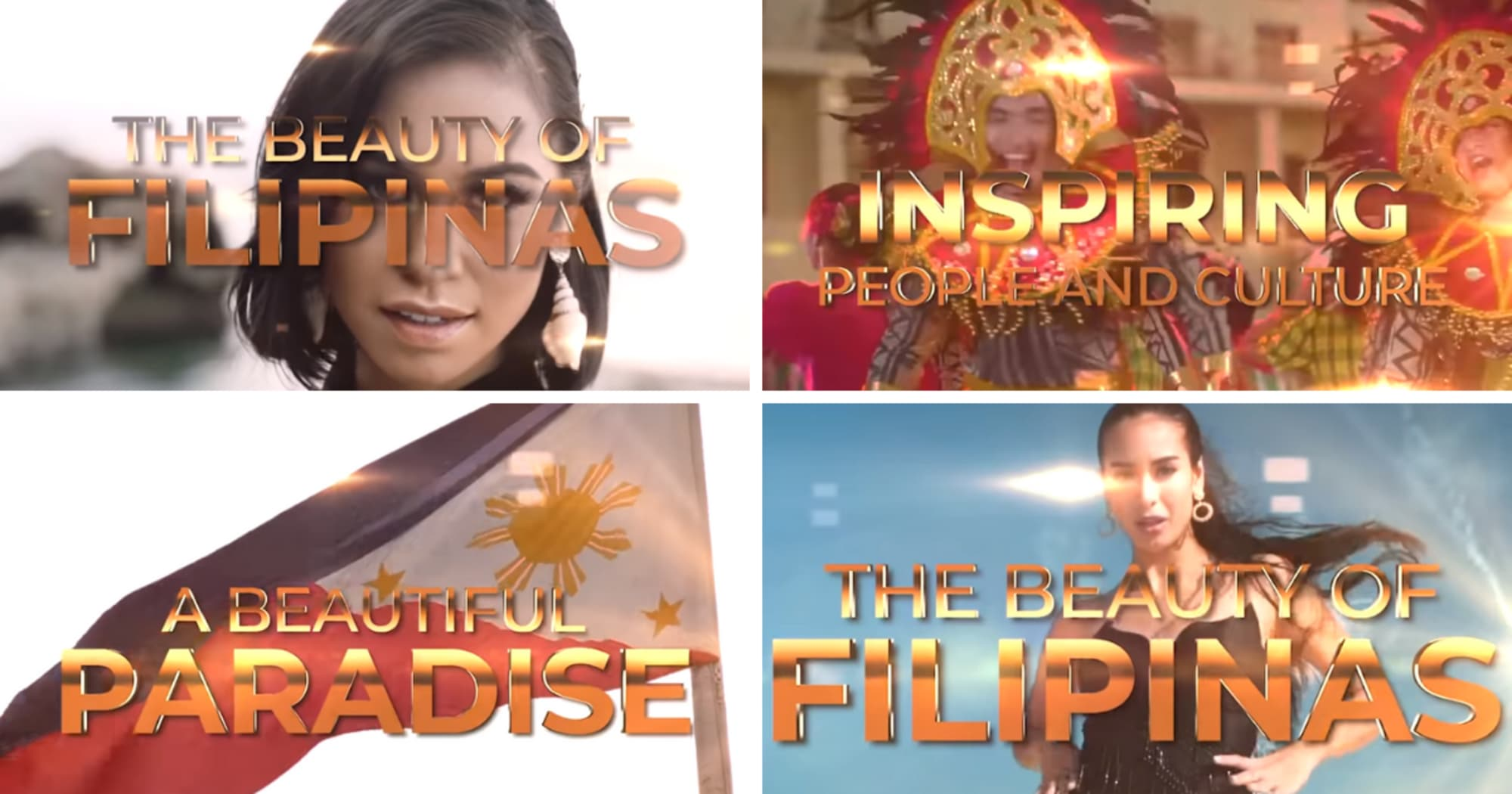 Tourism Video of the Miss Universe Philippines Candidates, shows not only their beauty but also the wonders of their hometown