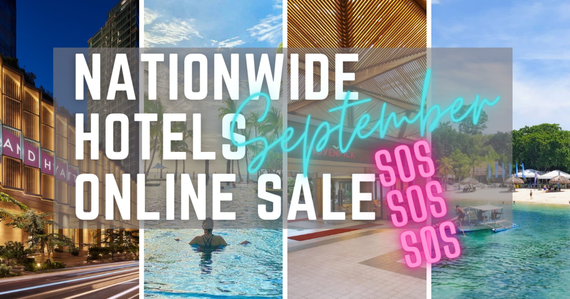 Boracay and other nationwide hotels will have the biggest online travel sale that's set to start tomorrow Sept. 15