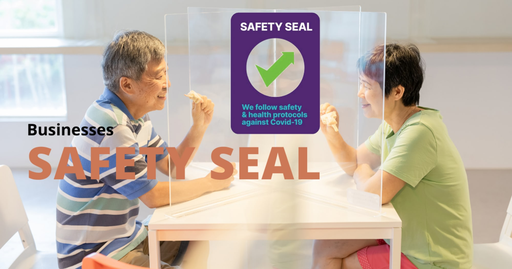 More than 43K businesses now have a Safety Seal as agencies encouraged more business owners to apply for the program