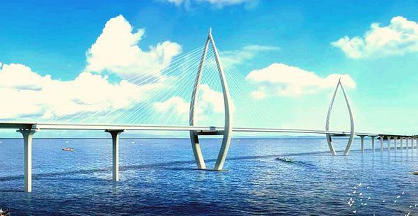 Proposed 32.47-kilometer Panay-Guimaras-Negros Bridge
