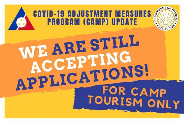 DOLE Region 6  Accepting Application for CAMP TOURISM