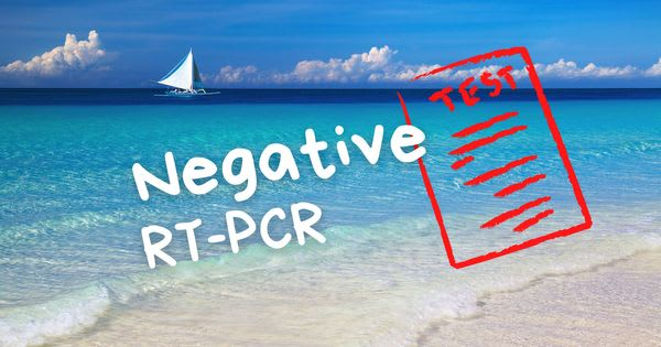 Negative RT-PCR Test still a requirement for travelers going to Boracay