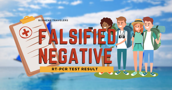Alarming number of falsified negative RT-PCR test result in Boracay pushed BIATF to seek help from DOJ