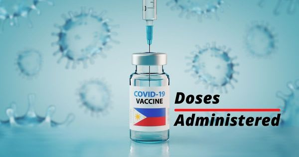 Philippines ranked 4th in the ASEAN most administered Covid-19 doses