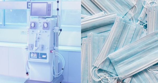 Temasek Foundation donated dialysis machines and millions of surgical masks to the Philippines
