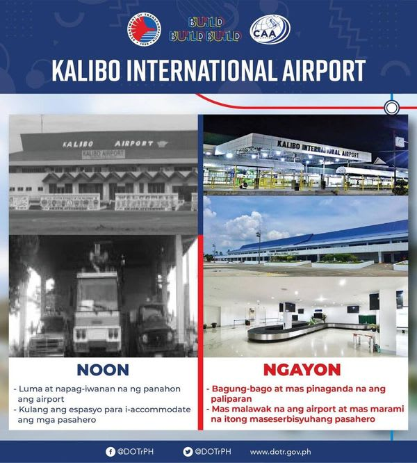 The New Kalibo International Airport will be inaugurated by the DOTr tomorrow