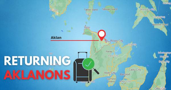 Returning Aklanons now allowed to return to Aklan