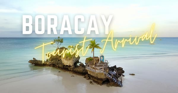 Tourists are starting to pick up in Boracay Island, with 1,616 arrivals