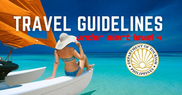 Travel Guidelines for NCR Residents under Alert Level 4 - DOT