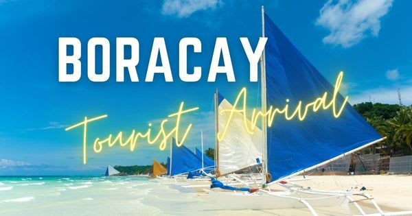 More than 5,000 tourists visited Boracay Island this September