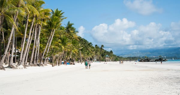 As travel restrictions continue to ease, tourists continue to crowd Boracay Island with more than 12,000 arrivals