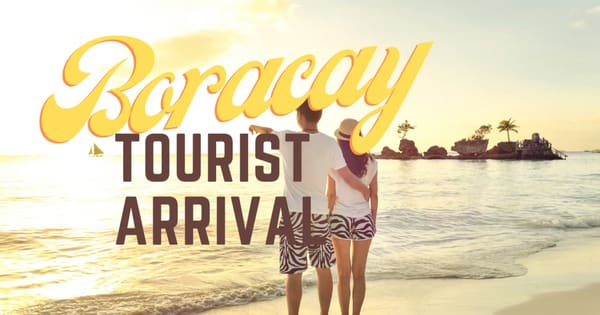 After a week in October, more and more tourist visited Boracay with 6,900 plus travelers recorded