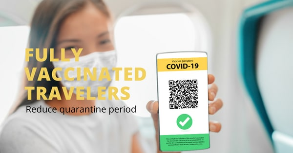 """""""A welcome development,"""" DOT backs call to reduce the quarantine period for fully vaccinated travelers"""