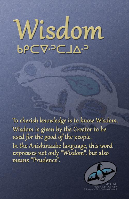 Seven Grandfather Teachings poster: Wisdom