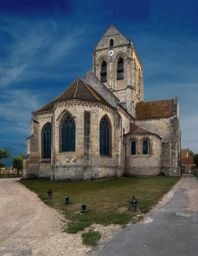 Auvers sur Oise Kerk copyright Karin Borghouts
