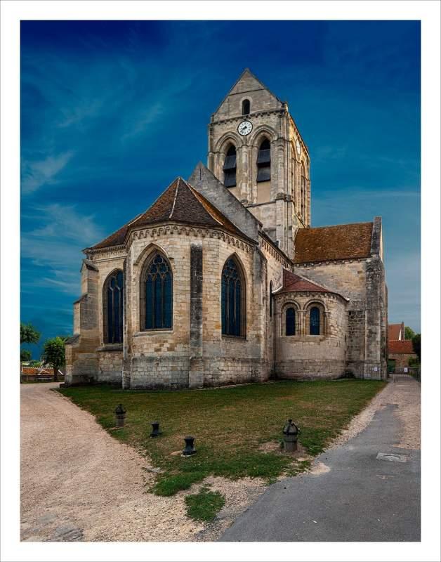 Auvers sur Oise Kerk NIEUW 6640 42 EDITIE 20191025221541