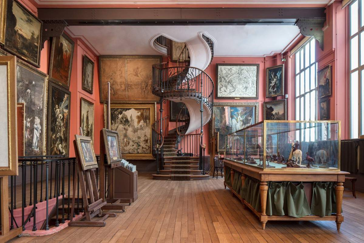 Atlier Gustave Moreau 4053 54