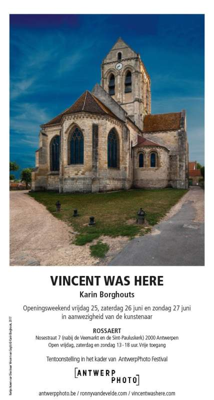 Digitale uitnodiging Vincent was here