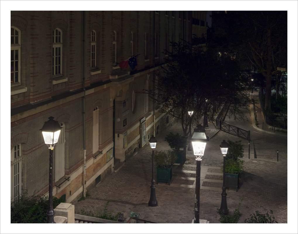 Parijs Montmartre Nacht 8638 39 EDITIE