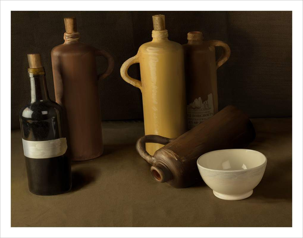 3 Stilllife Bottles EDITION