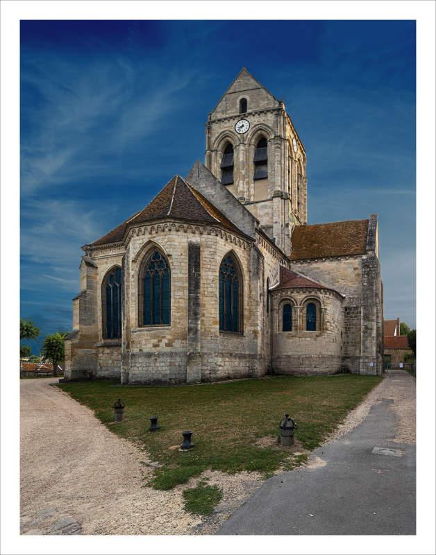 Auvers sur Oise Kerk NIEUW 6640 42 EDITIE