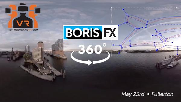 Boris FX: 360 event, How to Create VR