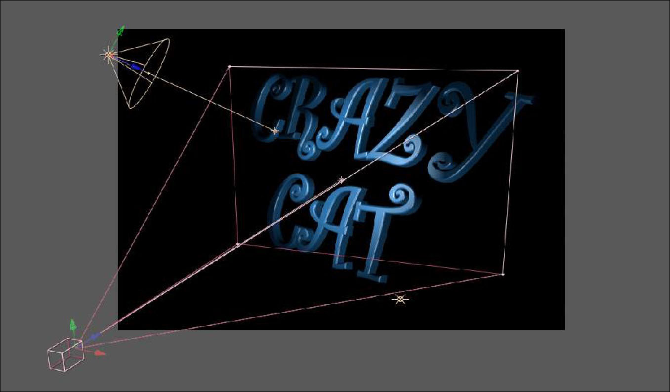 Extruded Text 7