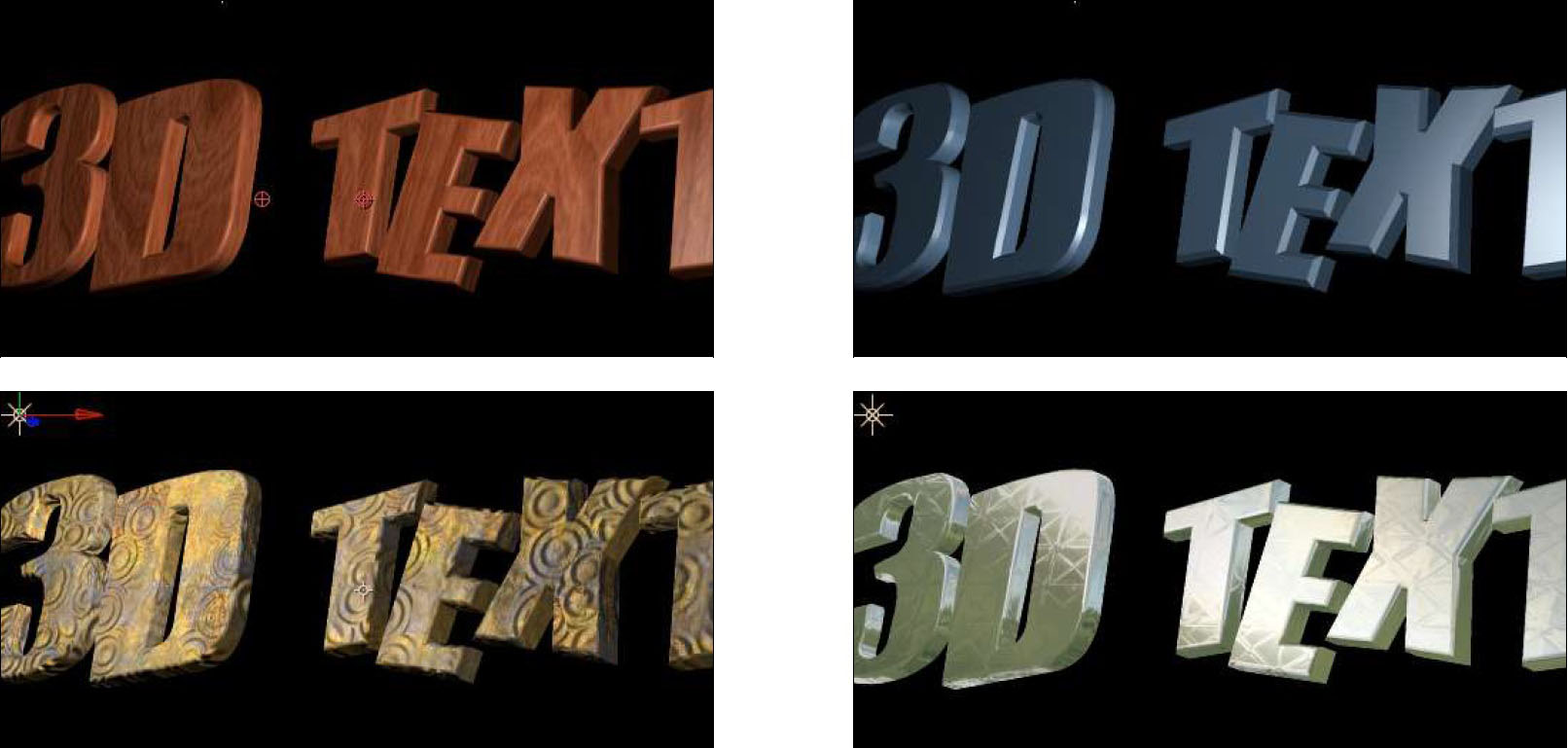 Extruded Text 9