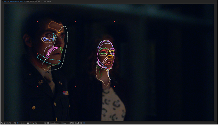 The Man in the High Castle, rotoscope masks AE