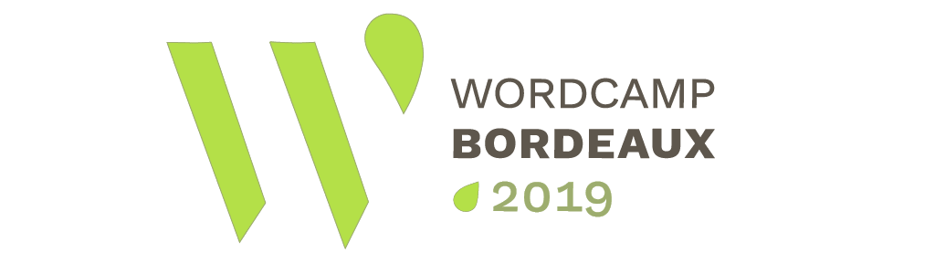Logo du Wordcamp Bordeaux 2019