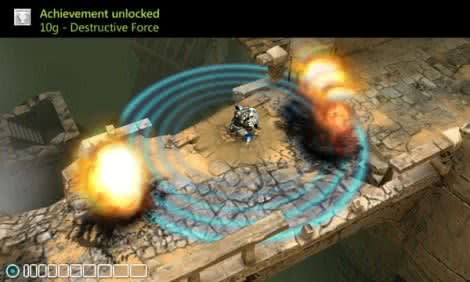 Capture de l'écran The Harvest, un Hack'n'Slash prometteur pour Windows Phone