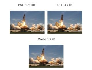 PNG: 171KB; JPEG: 33KB; WebP: 13KB