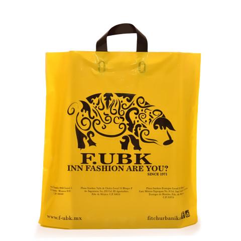 Bolsa de plástico de asas flexibles Fubk