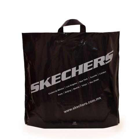 Bolsa con asas de plástico flexibles Skechers