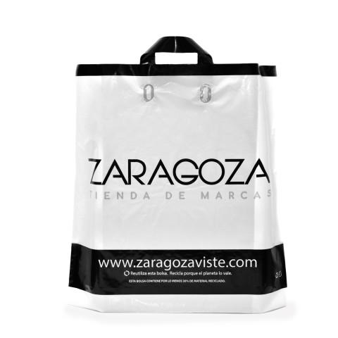 Bolsa con asas de plástico flexibles Zaragoza