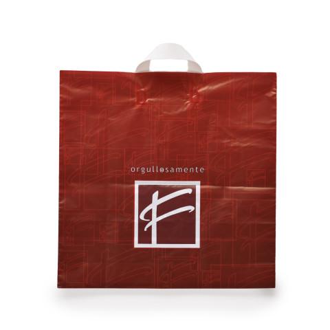 Bolsa de plástico con asas flexibles Fred I