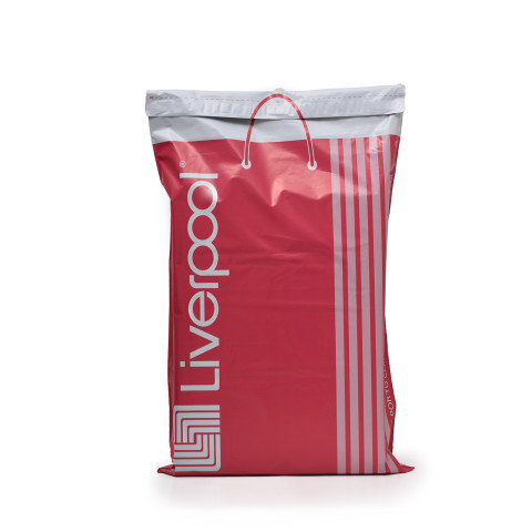 Bolsa para envíos resellable fabricada para tiendas Liverpool.