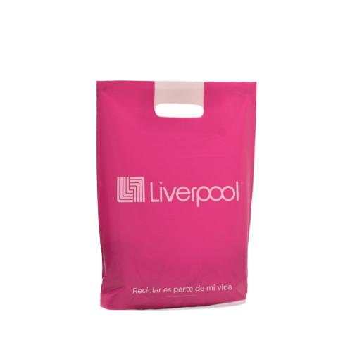 Bolsa de plástico asas troqueladas Liverpool