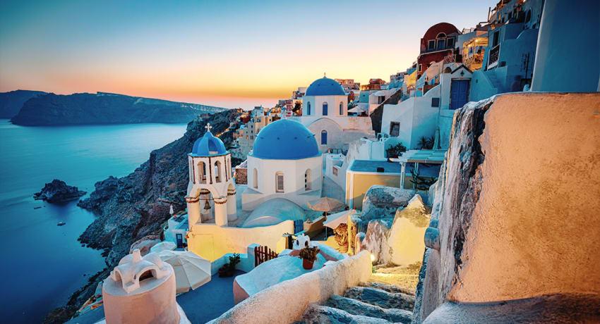 isole del mediterraneo santorini