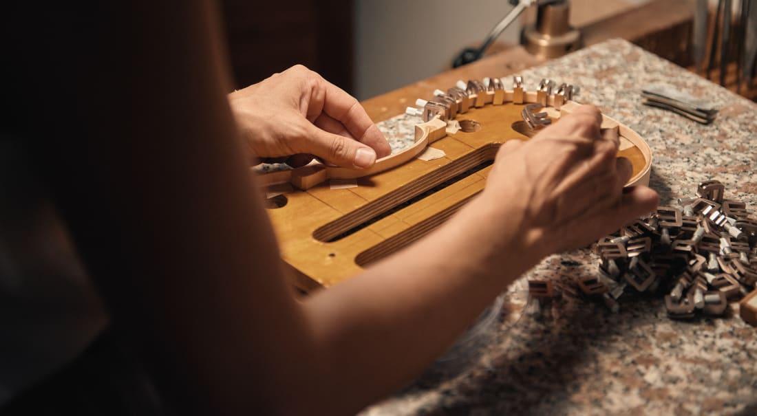 costruzione di un violino